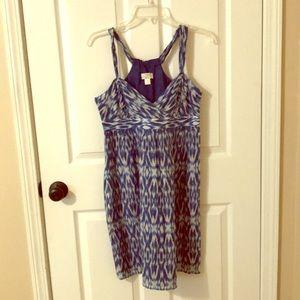 Blue summer LOFT dress